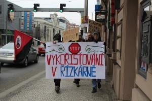 Repotáž z protestu proti Řízkárně_Blesk TV