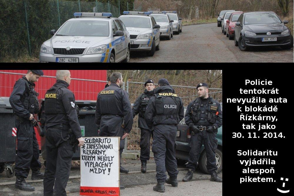 4_policie s piketem