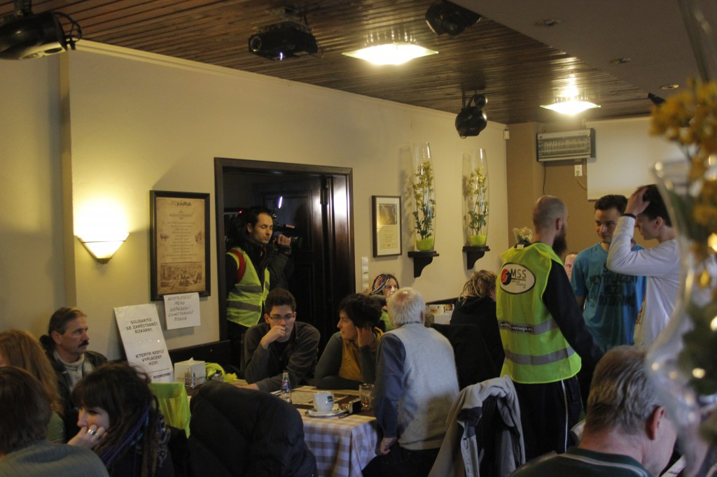 protest v restauraci Řízkárna_11.1.2015_b